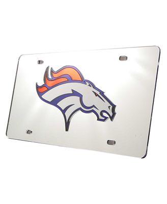 Rico Industries Denver Broncos License Plate