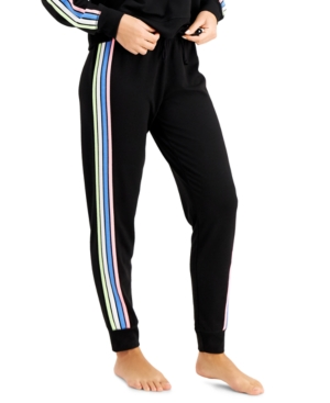 Side-Stripe Sleep Pajama Pants