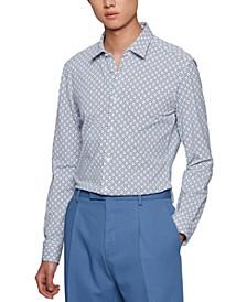 BOSS Men's Printed Slim-Fit Shirt