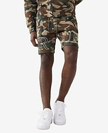 Men's Camo Print Knit Short
