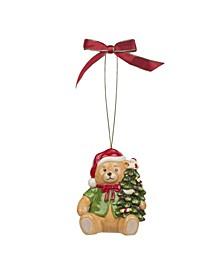 Christmas Tree Christmas Bear Ornament