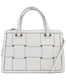 Woven Work Satchel, Created for Macy's