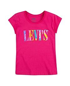 Big Girls Rainbow Logo Short Sleeve T-shirt