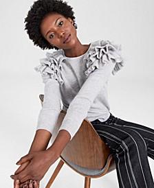 Cashmere Cha Cha Ruffled Sweater, Created for Macy's