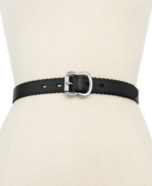Fossil  LEATHER SCALLOP JEAN BELT