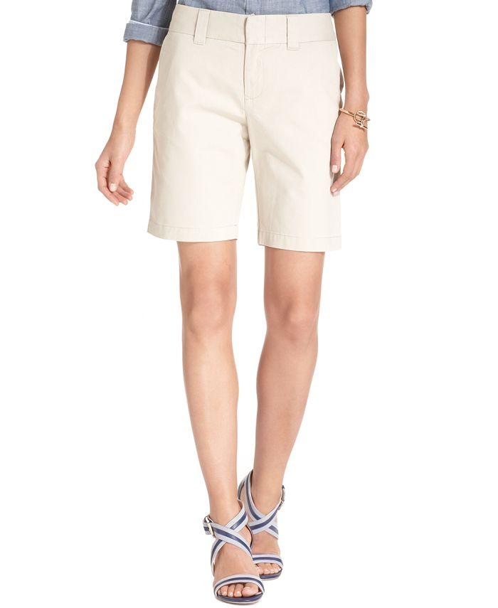 Tommy Hilfiger - Striped Bermuda Shorts