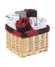Lumberjack Moose Gift Basket, Set of 7