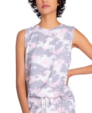 Peached Jersey Pajama Tank Top