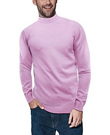 Men's Big and Tall Mock Neck Sweater