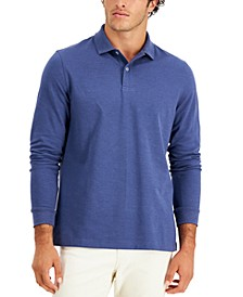 Men's Solid Stretch Polo, Created for Macy's