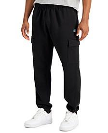 Men's Cargo Fleece Jogger Pants