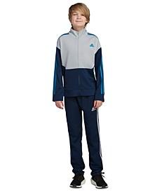 Big Boys Zip-Front Uplift Tricot Jacket