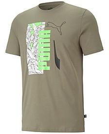 Men's Big & Tall Summer Vibe Tropical Logo Graphic T-Shirt