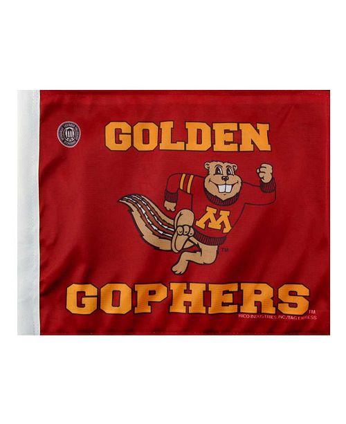 Rico Industries Minnesota Golden Gophers Car Flag