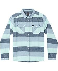 Men's Shallows Stripe Flannel Long Sleeve Shirt