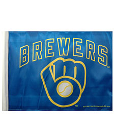Rico Industries  Milwaukee Brewers Car Flag