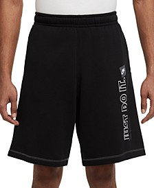 Men's Club Just Do It Fleece Shorts