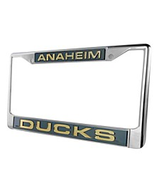 Anaheim Ducks Laser License Plate Frame