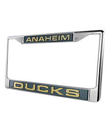 Rico Industries Anaheim Ducks Laser License Plate Frame