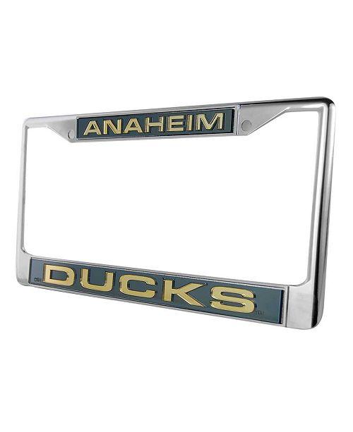 Rico Industries Anaheim Ducks Laser License Plate Frame