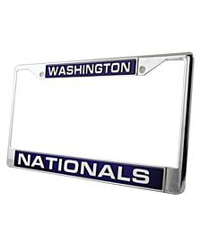 Washington Nationals Laser License Plate Frame