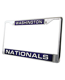 Rico Industries Washington Nationals Laser License Plate Frame