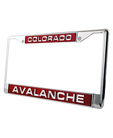 Colorado Avalanche Laser License Plate Frame