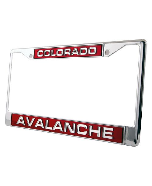 Rico Industries Colorado Avalanche Laser License Plate Frame
