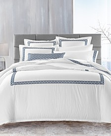 Chainlinks Pima Cotton Bedding Collection, Created for Macy's