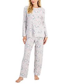 Printed Hacci Pajama Set, Created for Macy's