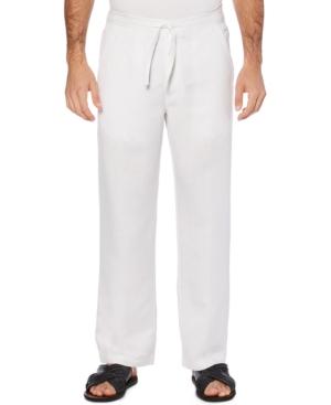 Solid Linen-Blend Drawstring Pants 30 Inseam