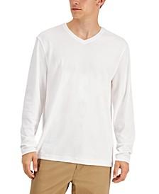 Men's V-Neck Shirt, Created for Macy's
