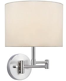 Lite Source Kasen Swing Arm Wall Lamp