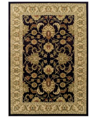 CLOSEOUT! St. Charles STC45 Chocolate 8' x 10' Area Rug
