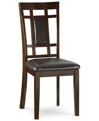 delran side chair, created for macy's - furniture - macy's