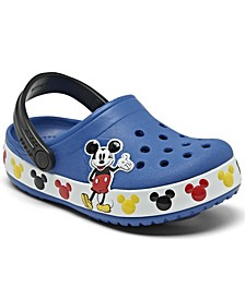 Little Boys Classic Mickey Mouse Clog Sandals from Finish Line