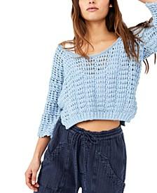 Cozy Pointelle Sweater