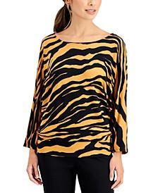 Zebra-Print Top, Created for Macy's