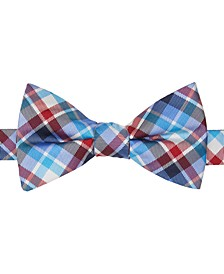 Men's Plaid Pre-Tied Bow Tie