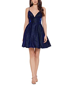 Galaxy Fit & Flare Party Dress