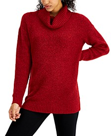Cowl Neck Tunic Sweater, Created for Macy's