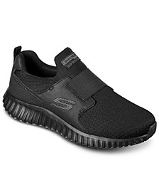Men's Work: Arch Fit - Cicadas Slip Resistant Slip-On Work Sneakers from Finish Line