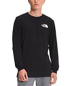 Men's Logo Box Long Sleeve T-Shirt