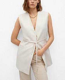 Women's Wrapped Cotton Vest