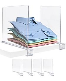 Shelf Dividers Set, 4 Pieces