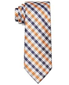 Men's Bi-Color Gingham Tie