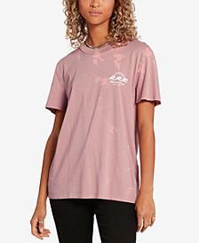 Juniors' Lock It Up Cotton T-Shirt