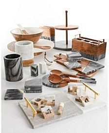 by Gibson Mixed Material Serveware Collection