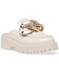 Women's Miri Mega-Chain Slip-On Lug Sole Loafers