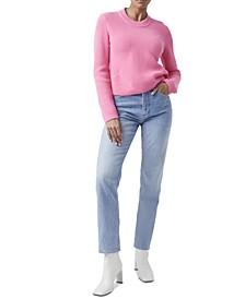 Nadia Cotton Ribbed Sweater